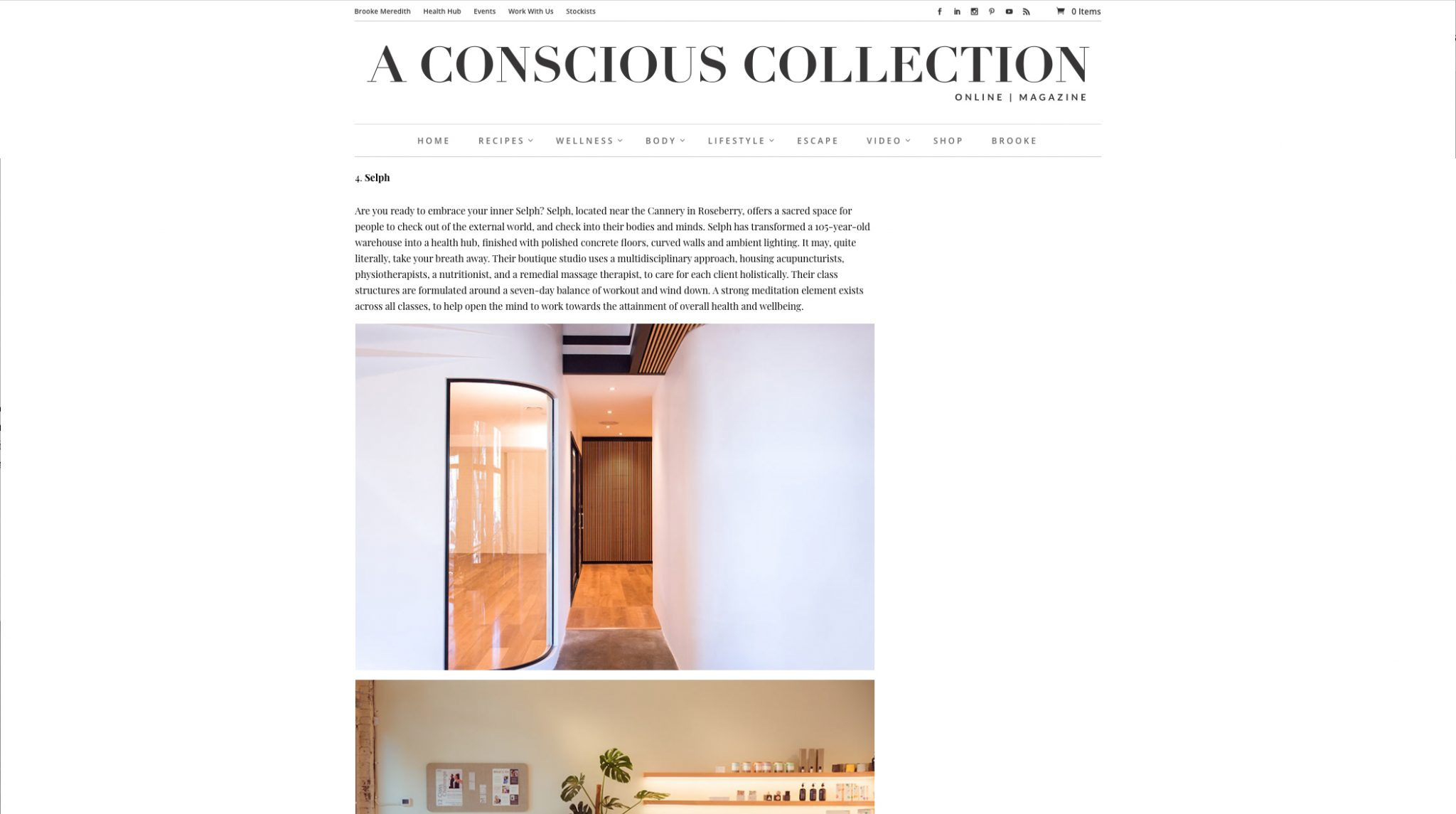 8 OF THE MOST BEAUTIFUL WORKOUT STUDIOS IN SYDNEY - a conscious collection - Selph health studios