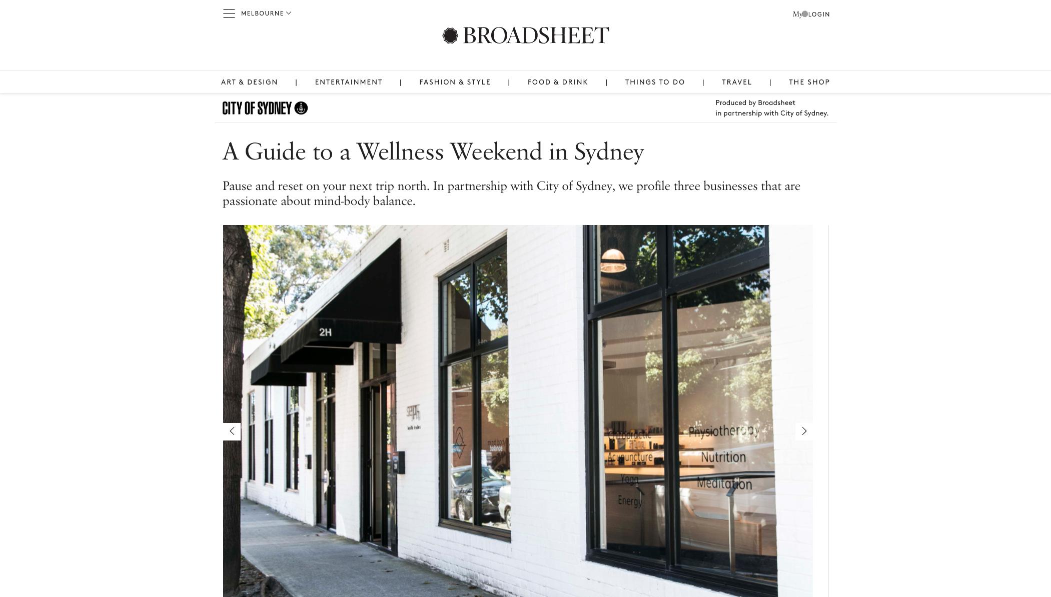 A guide to weekend wellness in Sydney - Broadsheet Selph Health Studios