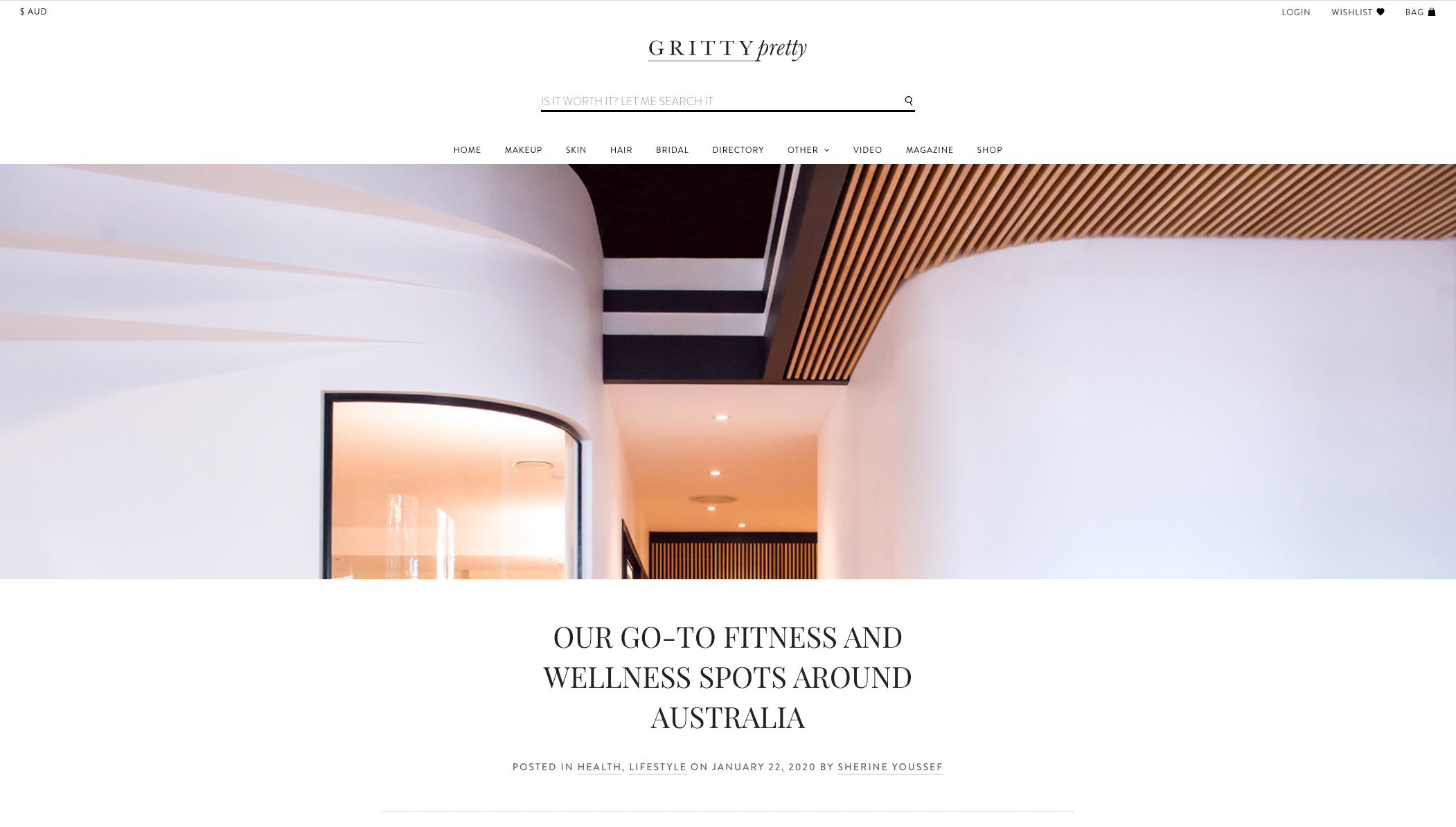 Gritty Pretty - our go to wellness spots around Australia - selph health studios