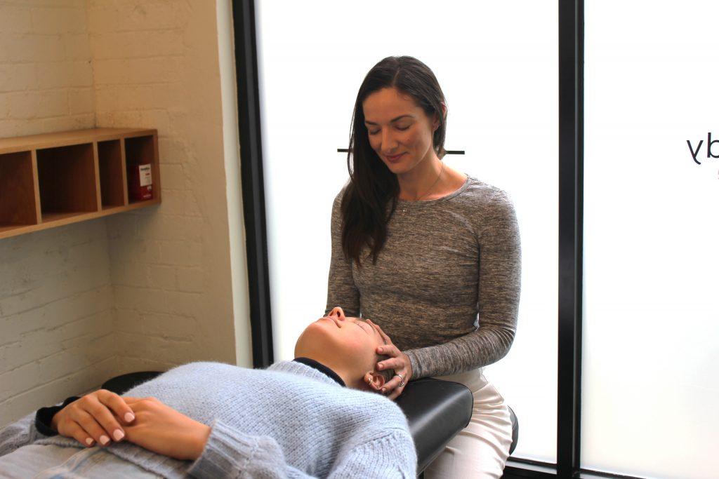 Amy Samvahan energy treatment at Selph Health Studios Rosebery