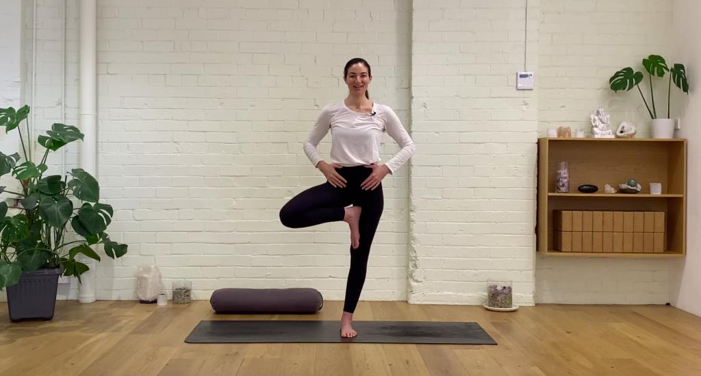 Prenatal Yoga - Standing Strong