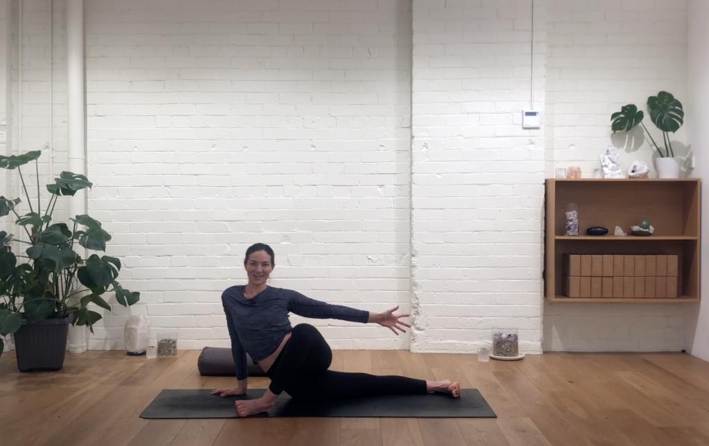 Yoga Balance - Front & Back Stretch