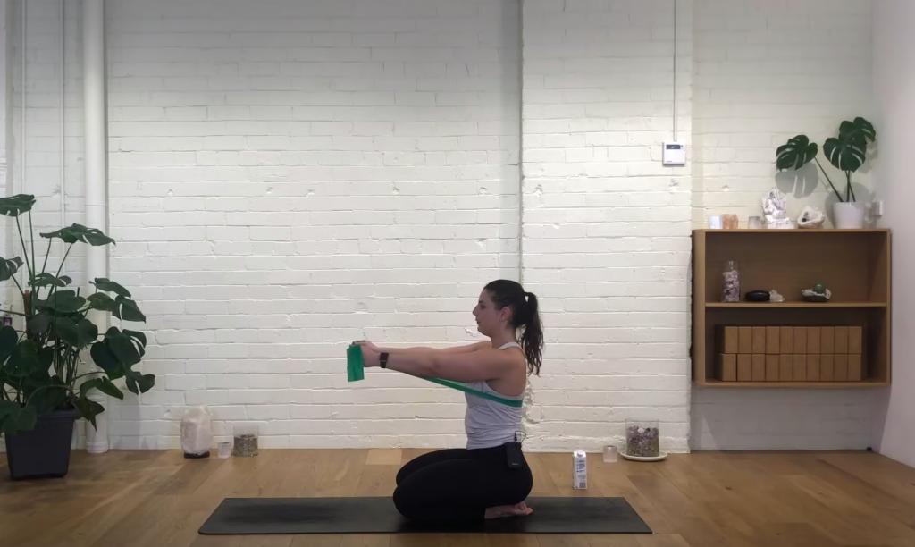 Prenatal Pilates - Upper Body Open