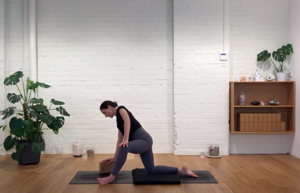 Prenatal Yoga - Upper Back & Hips